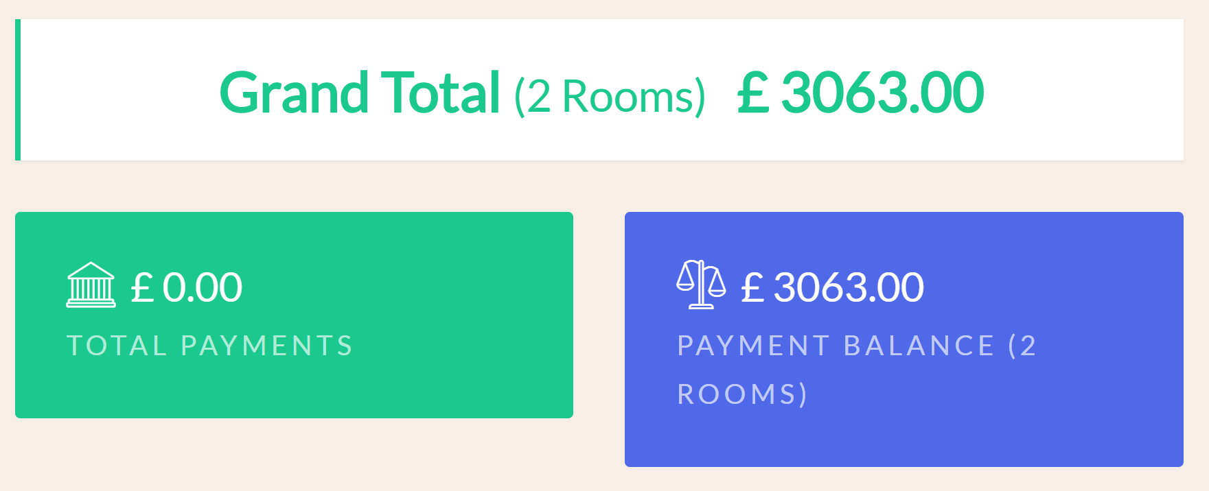 If you cancel the main room in the group, all the additional rooms will be cancelled as well. This way you can cancel the entire booking at once. Just note that the cancellation fee, if any, should take into account the 'Grand Total' for all the rooms in the group.
